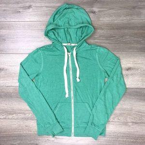 Abott Main Seafoam Green Hooded Sweatshirt